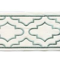 "Coventry Sage 4"" Border Tape Trim"