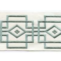"Luxor Sage 4"" Border Tape Trim"