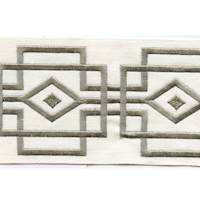 "Luxor Natural 4"" Border Tape Trim"