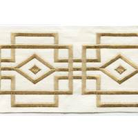 "Luxor Gold 4"" Border Tape Trim"