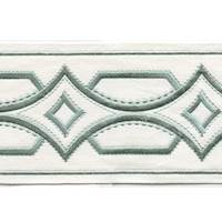 "Athena Sage 4"" Border Tape Trim"