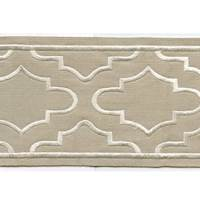 "Coventry Beige 4"" Border Tape Trim"