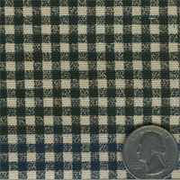 668092 Black Waverly Cheerful Check's 25 yd bolt fabric