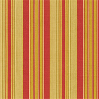 *12 YD PC--400771 Waverly Vintage Red Siene Stripe
