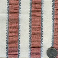 651863 Waverly Sally Stripes Americana 25 yd bolt fabric