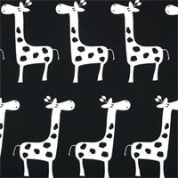 Stretch Black/White by Premier Prints - Drapery Fabric