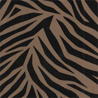 Showtime Zebra Faux Silk Drapery Fabric