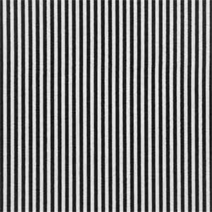 Desoto Black White Stripe Drapery Fabric by Premier Prints ...