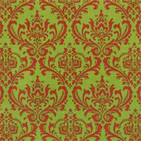 Madison Chartreuse/Lipstick by Premier Prints - Drapery Fabric