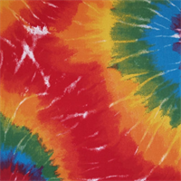 *2 YD PC--Tie Dyed Summer by Premier Prints - Drapery Fabric