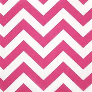 Zig Zag Candy Pink/White by Premier Prints - Drapery Fabric