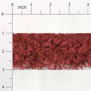 IR2585 - BRK - Hairy Gimp Fiber Trim - Brick Red - 10 yard reel