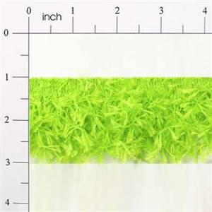 IR2585 - LM - Hairy Gimp Trim - Lime - 10 yard reel
