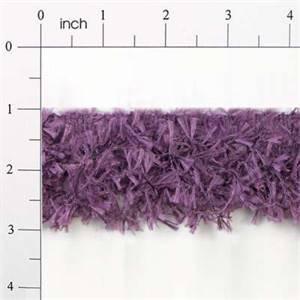 IR2585 - PL - Hairy Gimp Trim - Plum - 10 yard reel